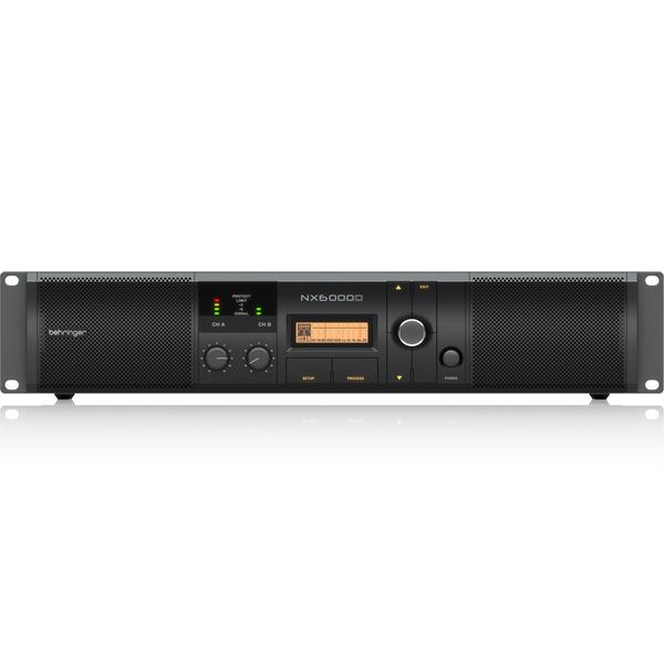 лучшая цена Профессиональный усилитель мощности Behringer NX6000D