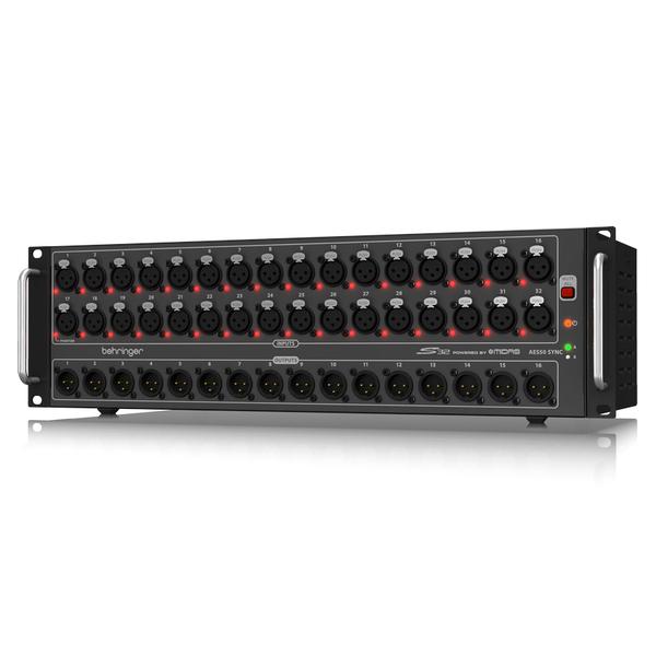 Модуль расширения Behringer Стейдж-бокс S32 behringer x adat