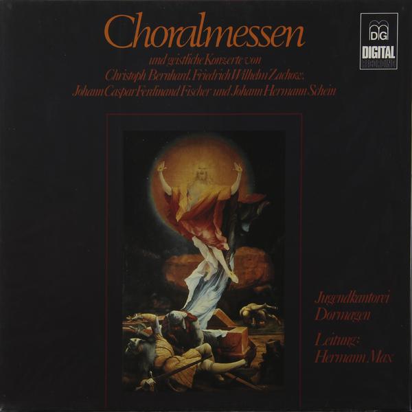 Bernhard / Zachow Fischer - Choralmessen Und Geistliche Konzerte