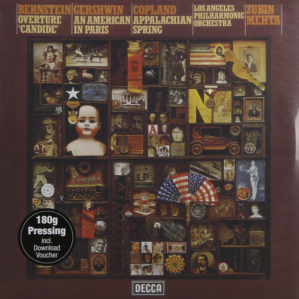 Bernstein / Gershwin Copland - Overture Candide American In Paris Appalachian Spring