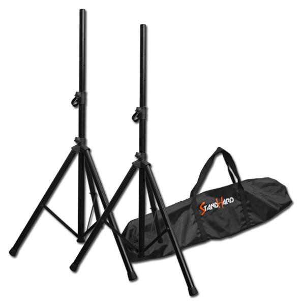 Стойка для профессиональной акустики Bespeco SH80N Black цена