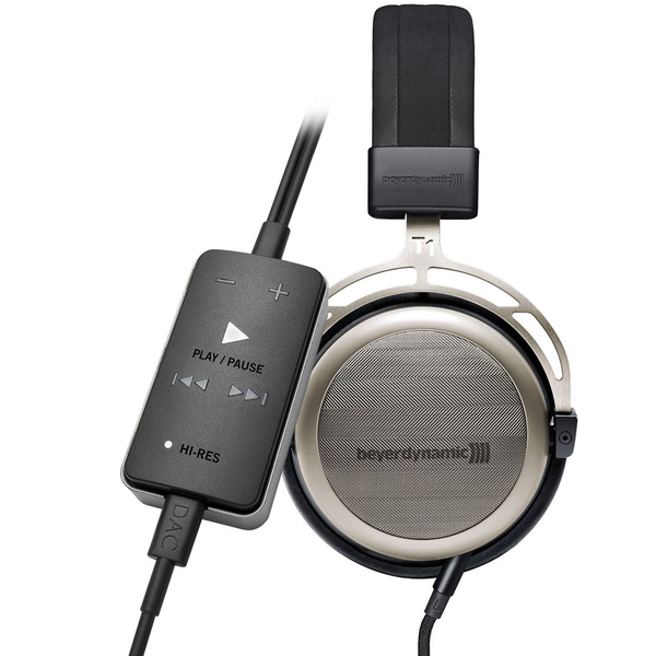Фото - Охватывающие наушники Beyerdynamic set T 1.2 + Impacto universal звуковая карта creative sound blaster e1 усилитель для наушников