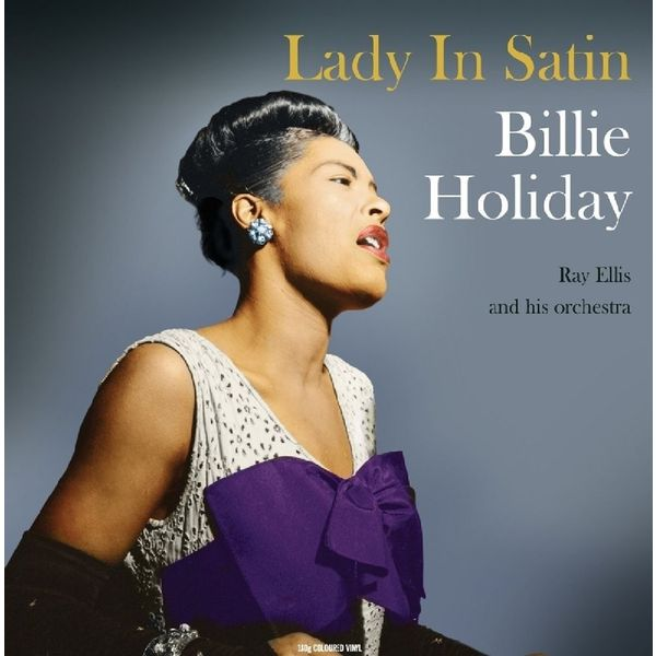 Billie Holiday - Lady In Satin (colour)