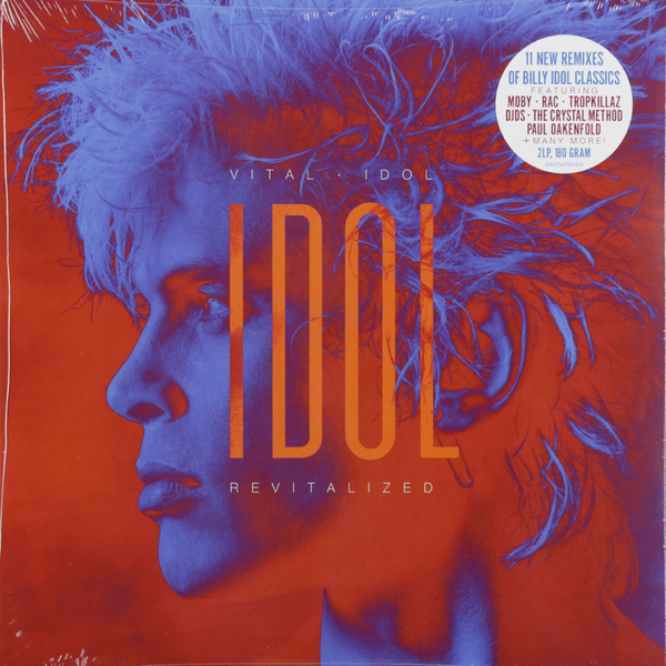 лучшая цена Billy Idol Billy Idol - Vital Idol: Revitalized (2 Lp, 180 Gr)