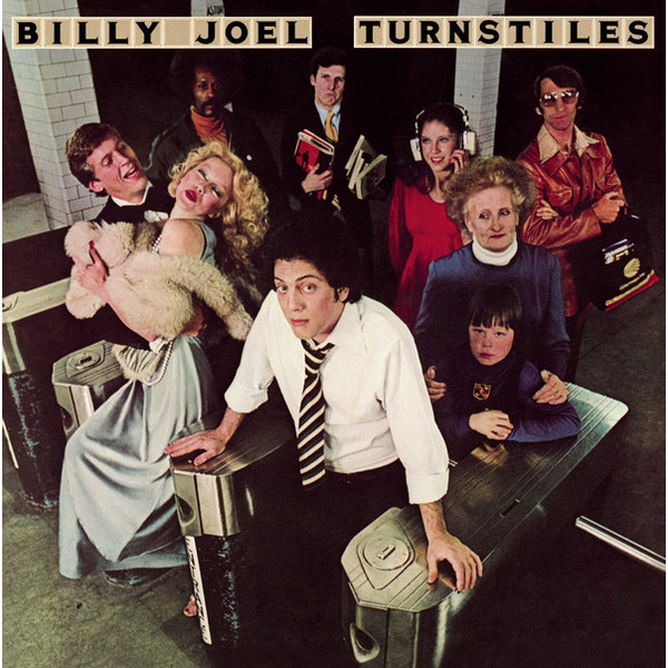 Billy Joel Billy Joel - Turnstiles цена и фото