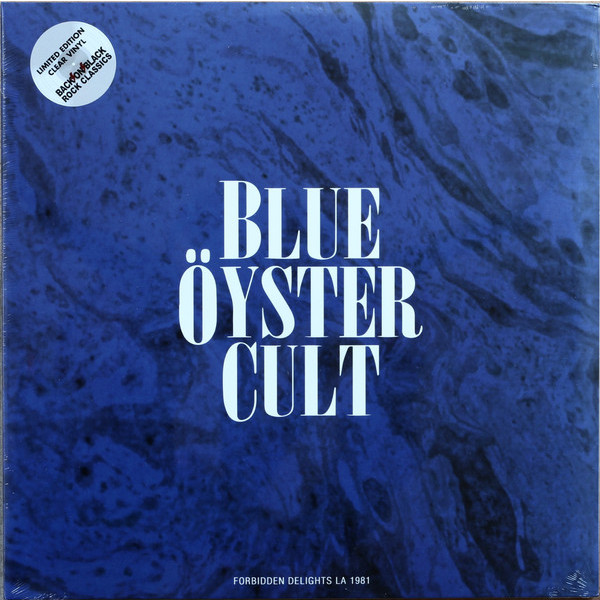 Blue Oyster Cult Blue Oyster Cult - Forbidden Delights - La 1981 (2 LP) blue oyster cult blue oyster cult agents of fortune