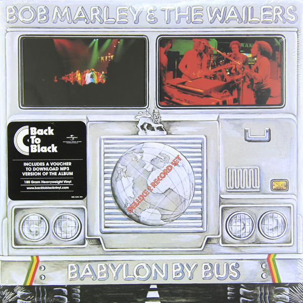 Bob Marley Bob Marley - Babylon By Bus (2 LP) bob marley bob marley babylon by bus 2 lp