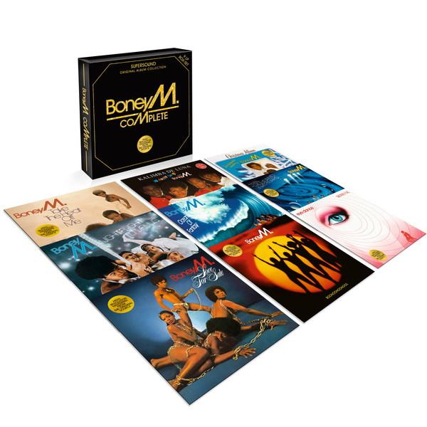 цены на Boney M. Boney M. - Complete (9 LP)  в интернет-магазинах