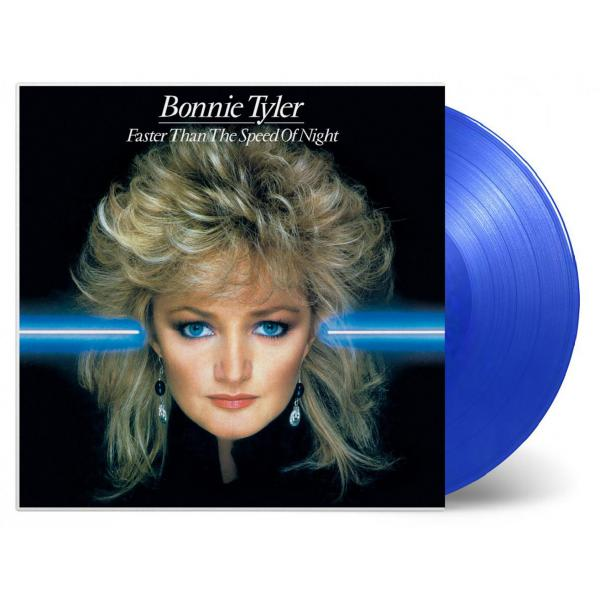 Bonnie Tyler - Faster Than The Speed Of Night (colour)