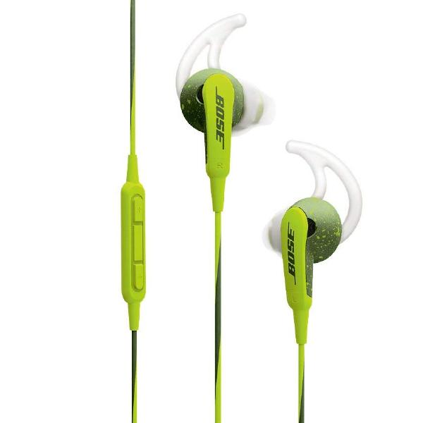 Внутриканальные наушники Bose SoundSport In-Ear for Apple Energy Green universal in ear earphone w mic cable control white yellow green 3 5mm plug
