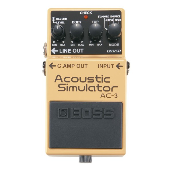 Педаль эффектов BOSS AC-3 педаль эффектов fender engager boost pedal