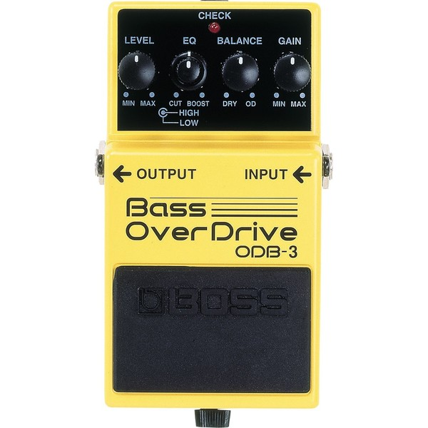 Педаль эффектов BOSS ODB-3 педаль эффектов fender engager boost pedal