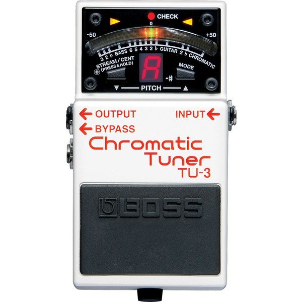 лучшая цена Гитарный тюнер BOSS TU-3