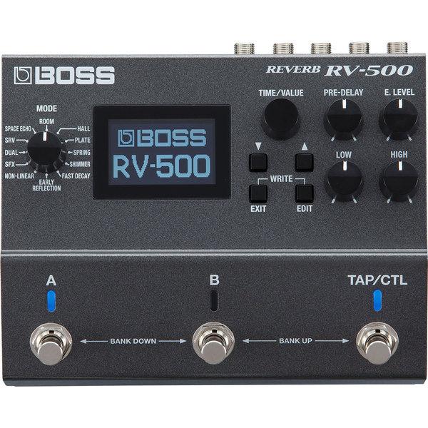 Гитарный процессор BOSS RV-500 все цены