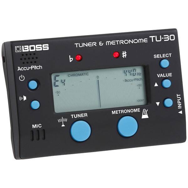 лучшая цена Гитарный тюнер BOSS TU-30
