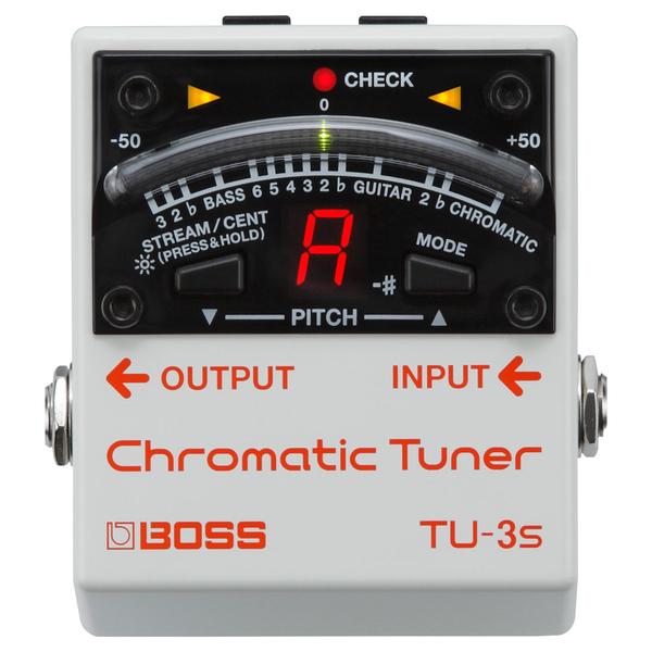 лучшая цена Гитарный тюнер BOSS TU-3S