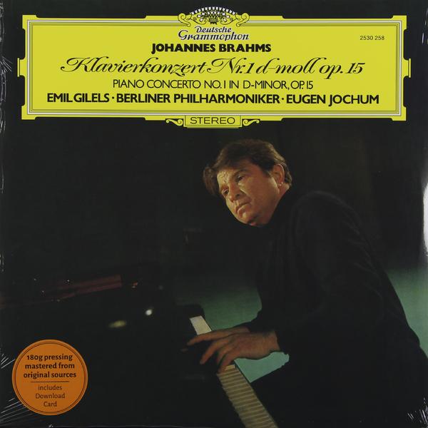 Brahms BrahmsEmil Gilels - : Piano Concerto 1 (180 Gr)
