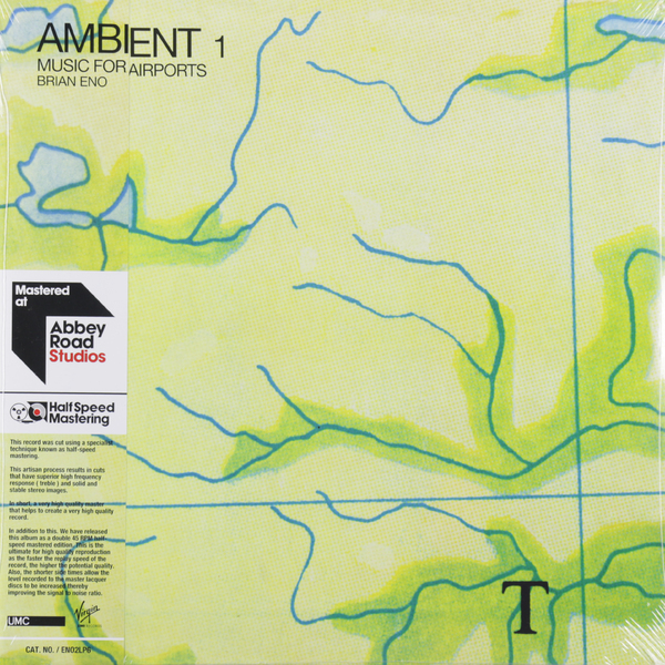 лучшая цена Brian Eno Brian Eno - Ambient 1: Music For Airports (2 Lp, 45 Rpm)