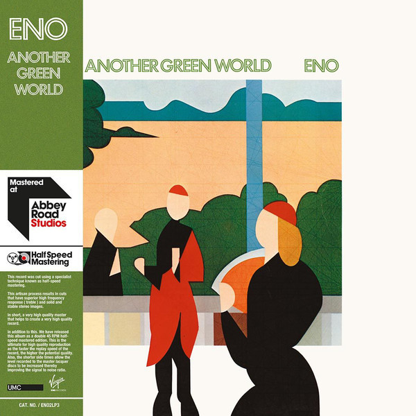 лучшая цена Brian Eno Brian Eno - Another Green World (2 LP)