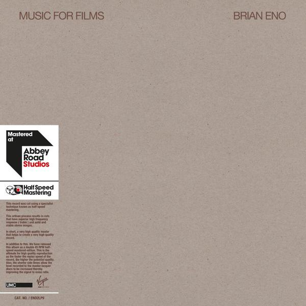 лучшая цена Brian Eno Brian Eno - Music For Films (2 Lp, 45 Rpm)