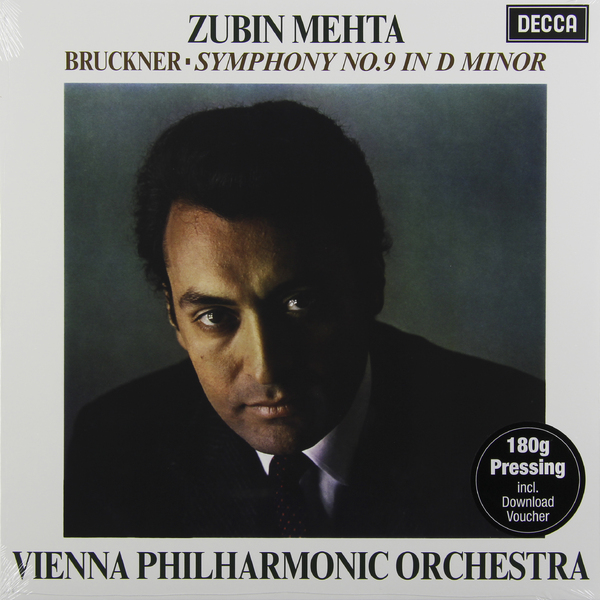 Bruckner BrucknerZubin Mehta - : Symphony No.9 (180 Gr) dvorak dvorak symphony nos 9 180 gr
