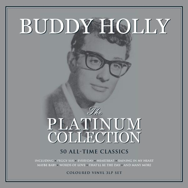Buddy Holly - The Platinum Collection (colour, 3 LP)