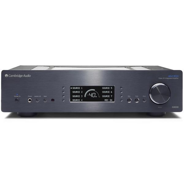 Стереоусилитель Cambridge Audio Azur 851A Black