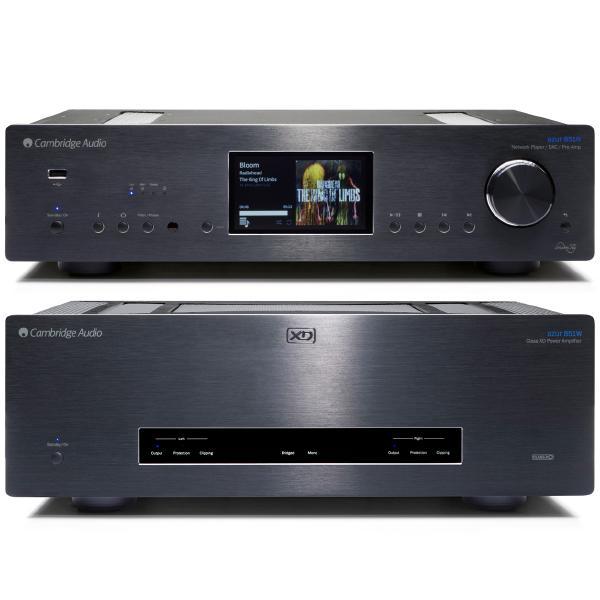 Сетевой проигрыватель Cambridge Audio Azur 851N + 851W Black