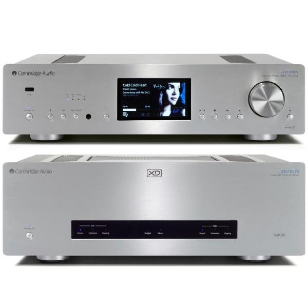 Стереоусилитель мощности Cambridge Audio Azur 851W + 851N Silver