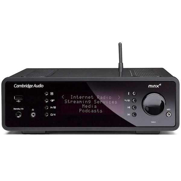 Сетевой проигрыватель Cambridge Audio Minx Xi Black (уценённый товар)