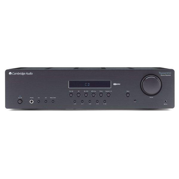 цена Стереоресивер Cambridge Audio Topaz SR10 v2.0 Black онлайн в 2017 году