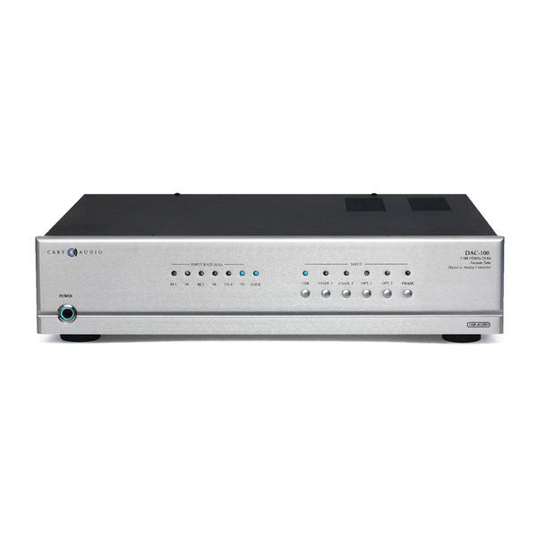Внешний ЦАП Cary Audio Design DAC 100 Silver цена и фото