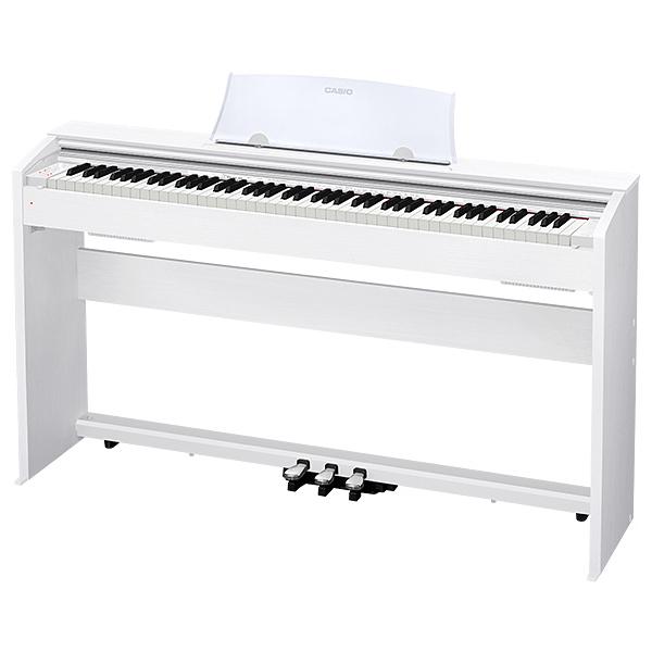 Цифровое пианино Casio Privia PX-770WE цена и фото