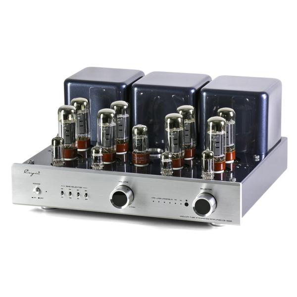Ламповый стереоусилитель Cayin CS-100A (EL34) Silver