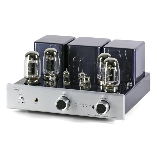 Ламповый стереоусилитель Cayin CS-55A (KT88) Silver усилитель cayin c5