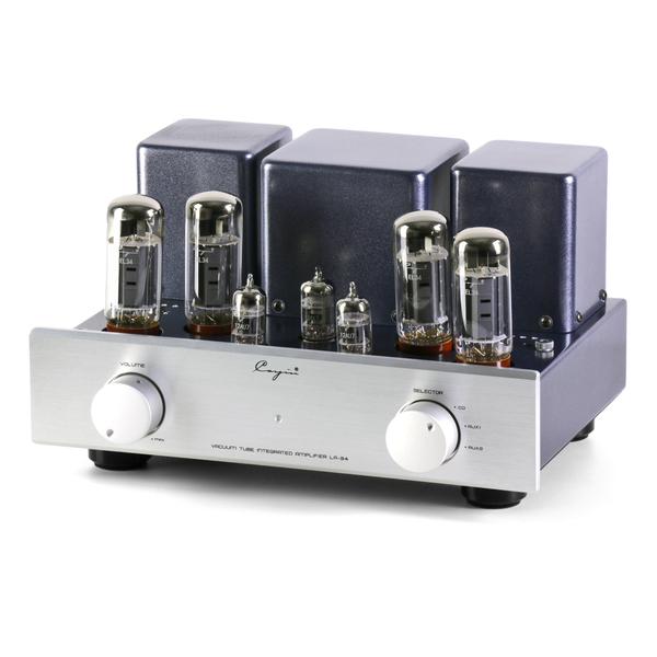 Ламповый стереоусилитель Cayin LA-34 (EL34) Silver усилитель cayin c5
