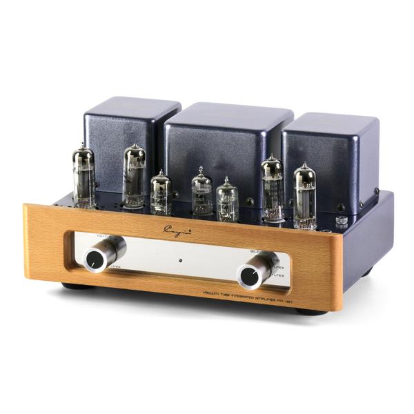 Ламповый стереоусилитель Cayin MT-12N (EL84EH) Black/Wood усилитель cayin c5