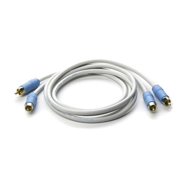 лучшая цена Кабель межблочный аналоговый RCA Chord C-line 0.5 m
