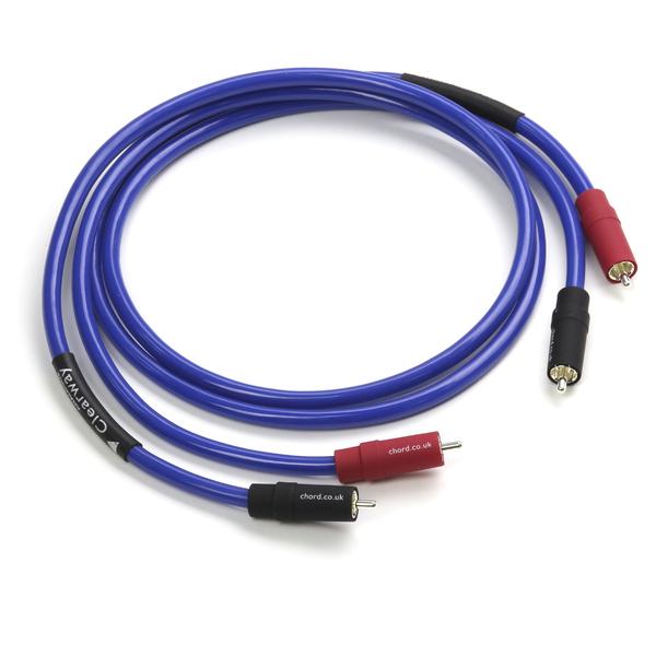 лучшая цена Кабель межблочный аналоговый RCA Chord Clearway 1 m