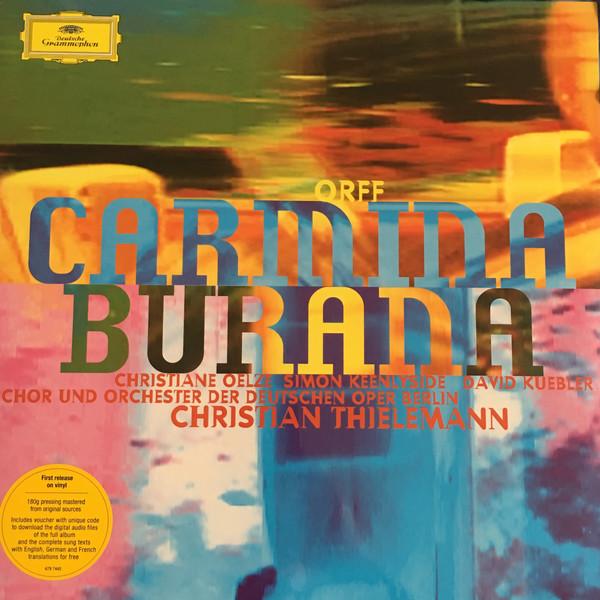 лучшая цена ORFF ORFFChristian Thielemann - : Carmina Burana