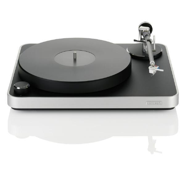 Виниловый проигрыватель Clearaudio Concept MC/S Black/Silver