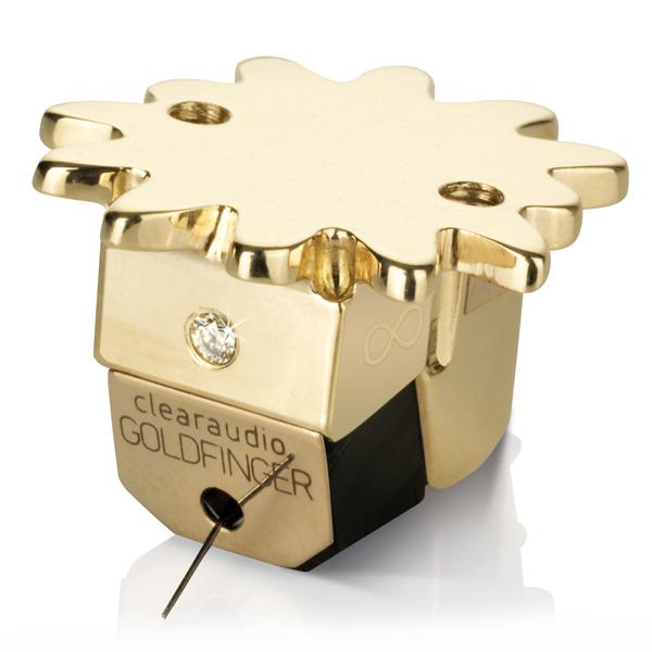 Головка звукоснимателя Clearaudio Goldfinger Statement MC цена