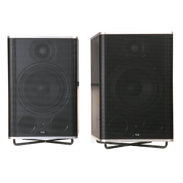 Активная полочная акустика T+A CM Active Silver/Black