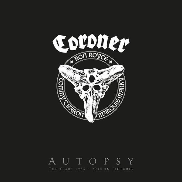 Coroner - Autopsy (lp + 3 Blu-ray)
