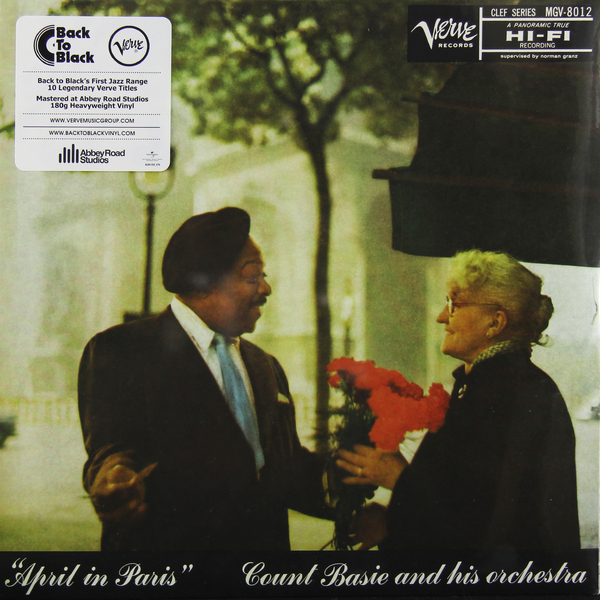 Count Basie Count Basie - April In Paris (180 Gr) рэй чарльз the count basie orchestra ray charles ray sings basie swings