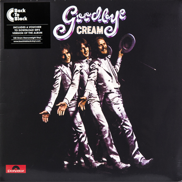CREAM CREAM - Goodbye (180 Gr)