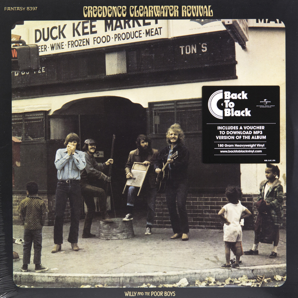 лучшая цена Creedence Clearwater Revival Creedence Clearwater Revival - Willi And The Poor Boys (180 Gr)