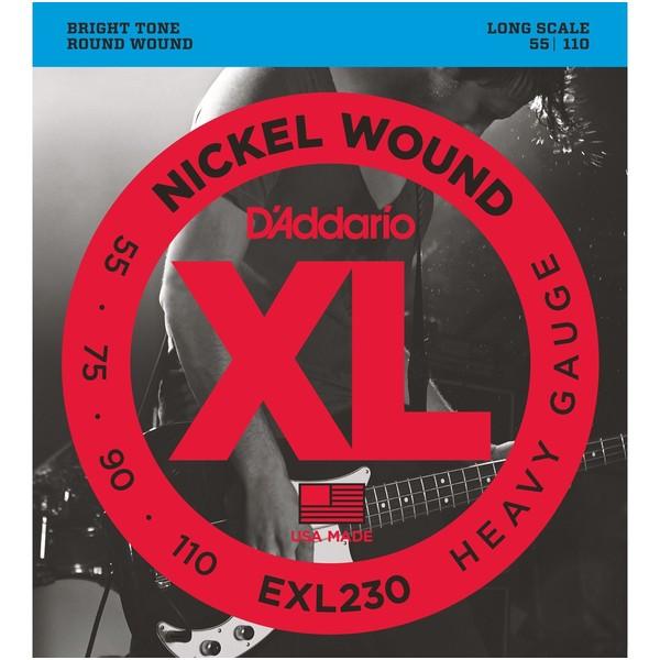 Гитарные струны DAddario EXL230 (для бас-гитары)