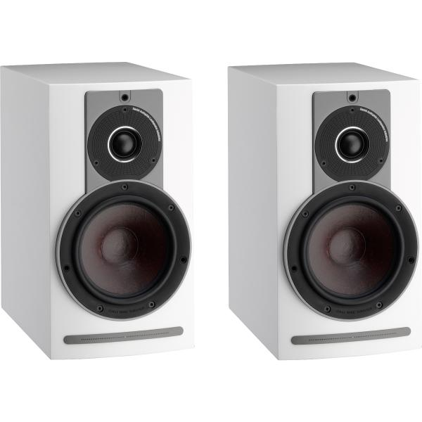Активная полочная акустика DALI Rubicon 2 C High Gloss White + BluOS Sound HUB Module