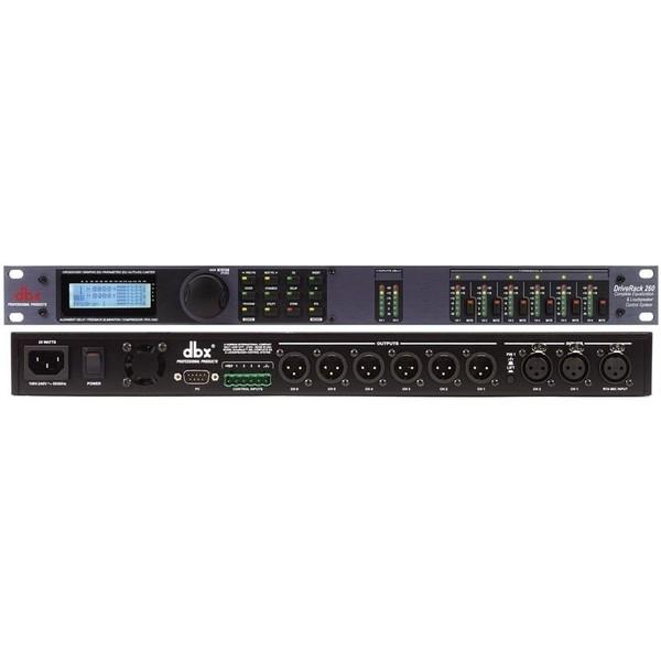 Контроллер/Аудиопроцессор dbx DriveRack 260